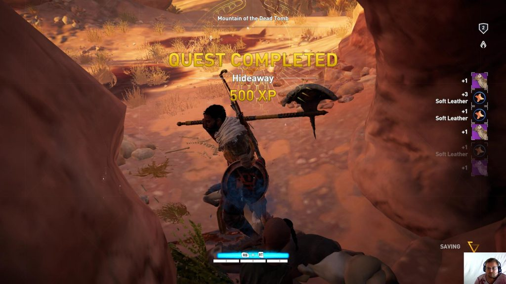 Assassin's Creed® Origins - Siwa Ep 3 - Hideaway Quest Completed
