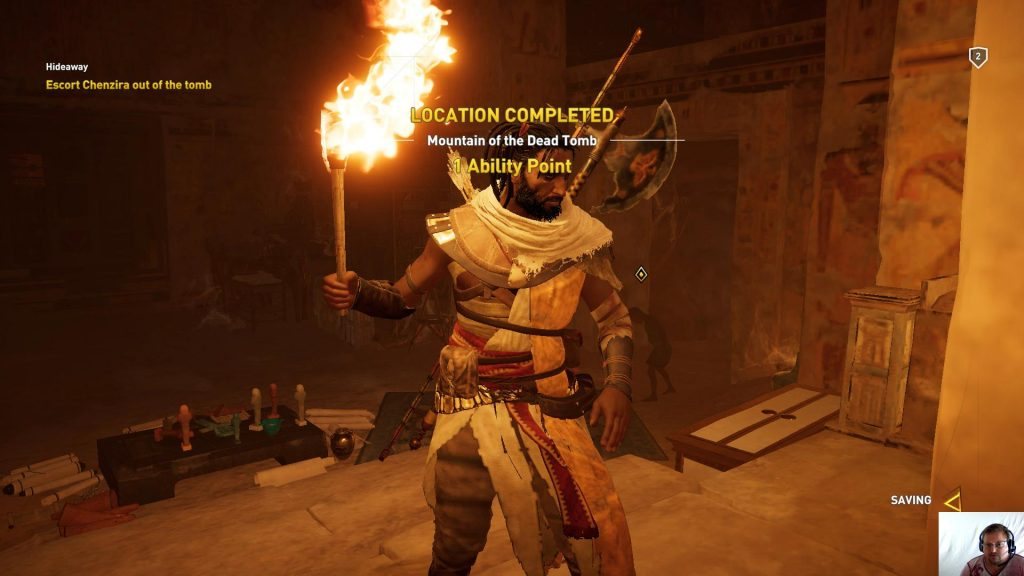 Assassin's Creed® Origins - Siwa Ep 3 - Mountain of the Dead Tomb Complete