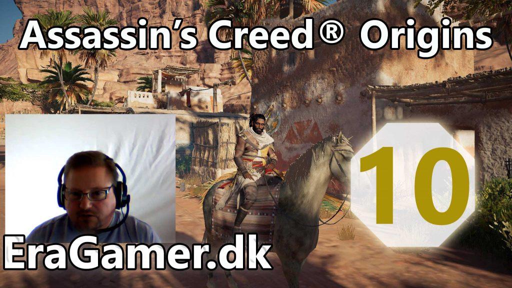 Assasin's Creed® Origins - Siwa ep 10 - Coral Escarpment Camp og Synchronization Point