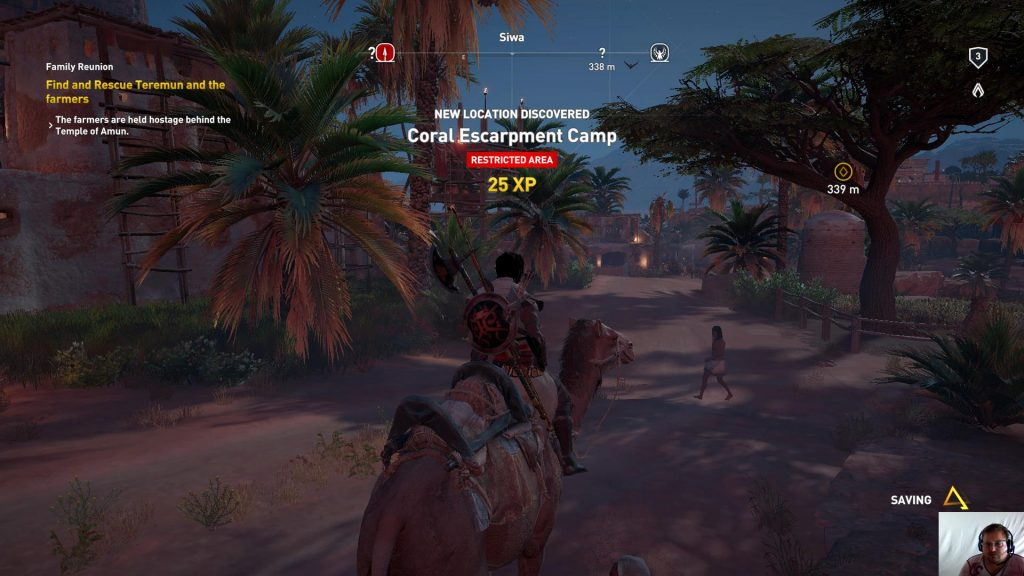 Assassin's Creed® Origins - Siwa ep 4 - Family Reunion - Corel Escarpment Camp