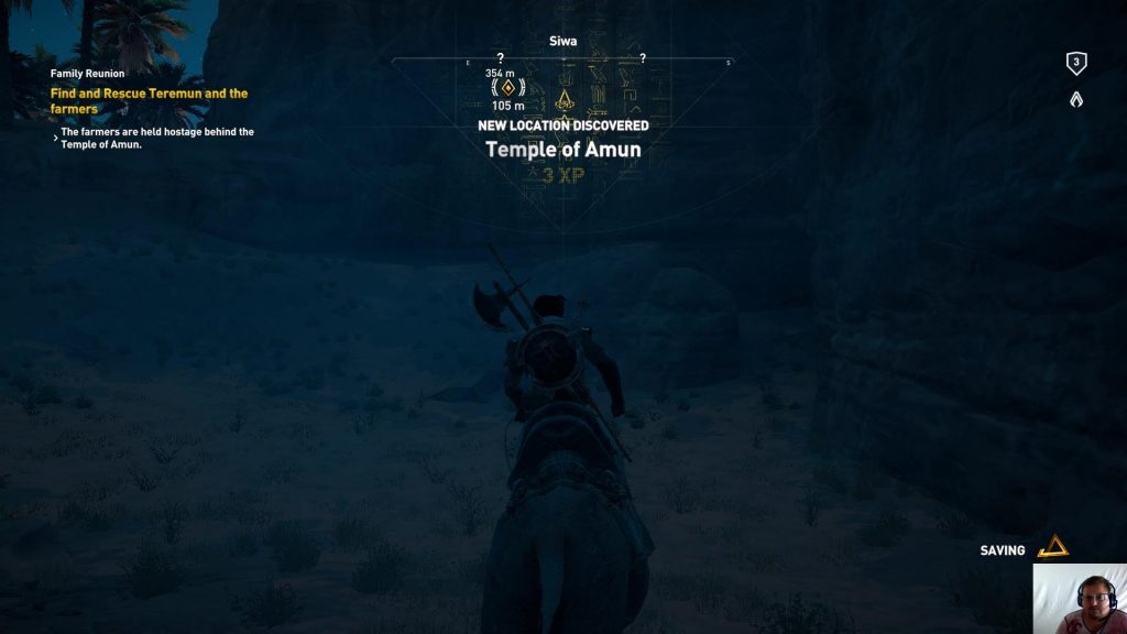 Assassin's Creed® Origins - Siwa ep 4 - Family Reunion - Temple of Amun discovered