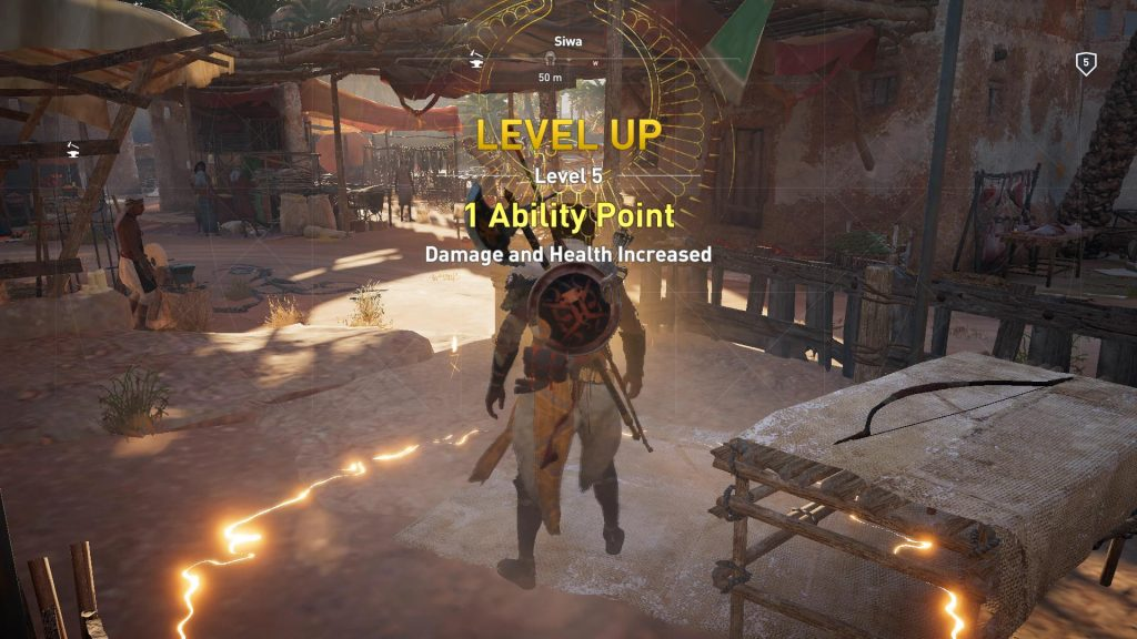 Ability point modtaget