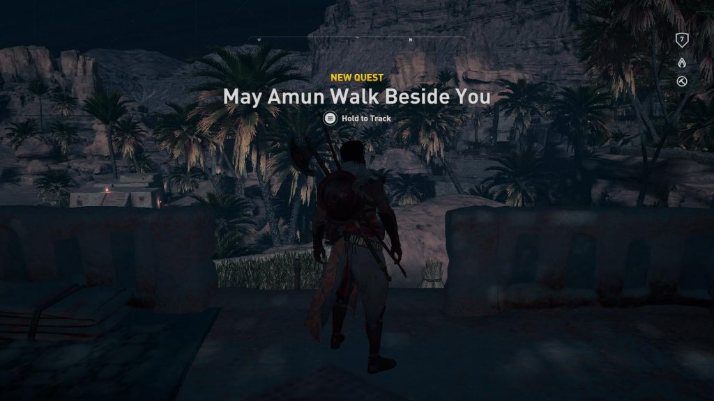 Ny Quest: May Amun walk beside you