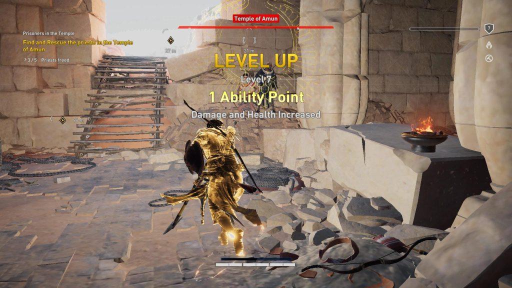 Level up til level 7