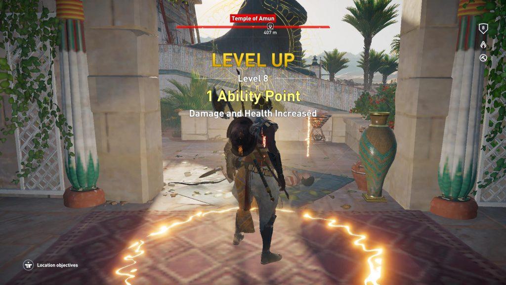Level up - til level 8