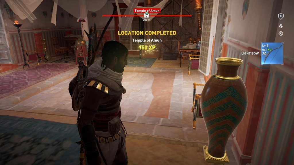 Location: Temple of Amun complete