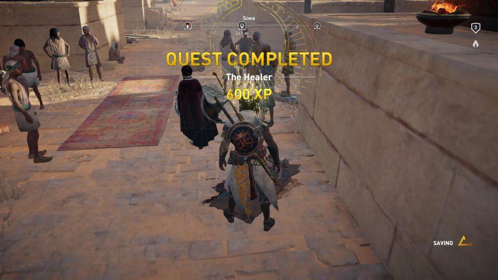 Quest Completed - det var det!