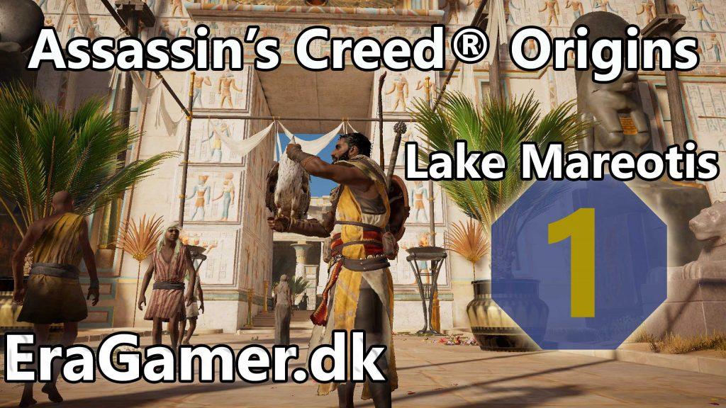 Assassin's Creed® Origins - Lake Mareotis ep 1 - May Amun Walk Beside You & Ambush in the Temple